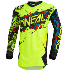 O'NEAL ELEMENT JERSEY - VILLAIN NEON YELLOW