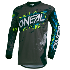 O'NEAL ELEMENT JERSEY - VILLAIN GRAY