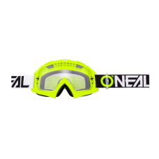 O'NEAL B10 GOGGLE TWO FACE - NEON YELLOW LENTE CHIARA